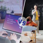 الفصول الافتراضية أم الفصول الحقيقية: أيهما أفضل؟
